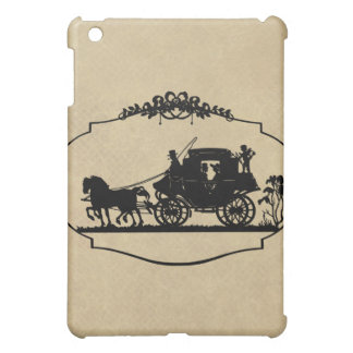 Carriage Ride With Cupid Apparel and Gifts iPad Mini Cover