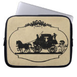Carriage Ride With Cupid Apparel and Gifts Computer Sleeves