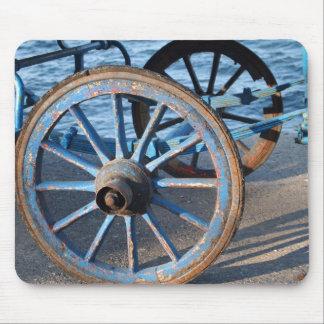 Carriage Wheel Mousepad