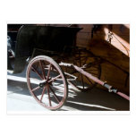 Carriage wheel post cards