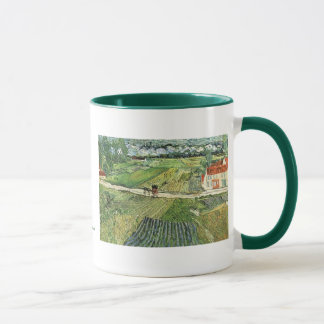 Carriage with Train by Vincent van Gogh Mug