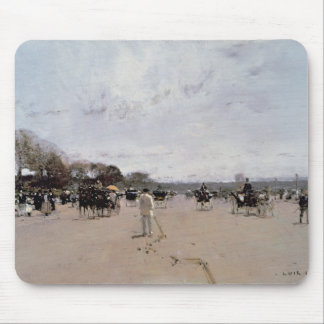Carriages on the Champs Elysees Mouse Pad