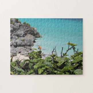 Carribbean view jigsaw puzzle