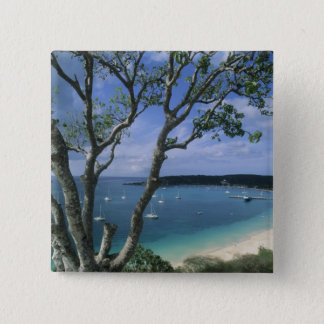 Carribean, Anguilla Island, Road Bay Harbour. Button