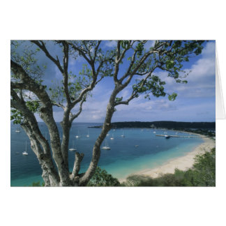 Carribean, Anguilla Island, Road Bay Harbour. Card