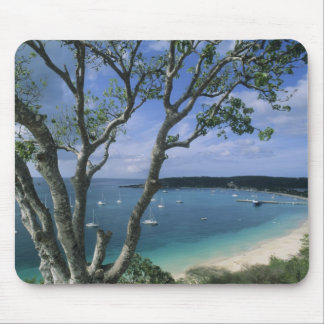 Carribean, Anguilla Island, Road Bay Harbour. Mouse Pad