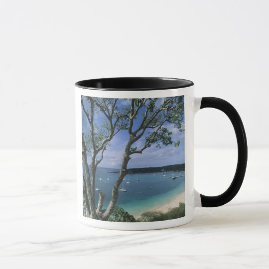 Carribean, Anguilla Island, Road Bay Harbour. Mug