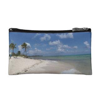 carribean beach bag makeup bag