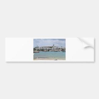 Carribean Beauty Car Bumper Sticker