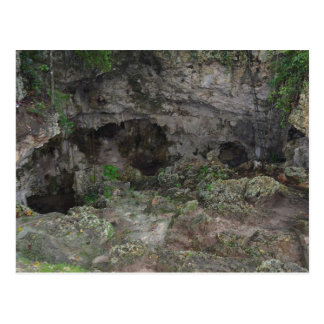 CARRIBEAN CAVE POSTCARD #1