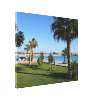 Carribean Dream Gallery Wrapped Canvas