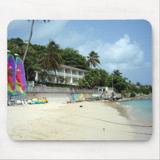 Carribean Paradise Mouse Pad