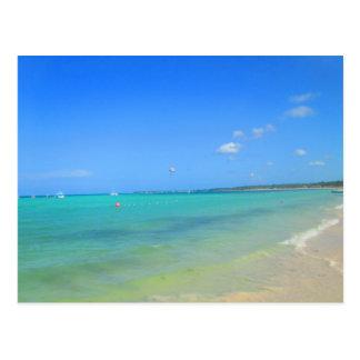 CARRIBEAN SEA #6  POSTCARD
