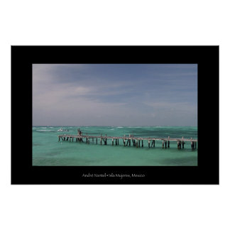 Carribean Sea Poster