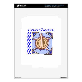 CARRIBEAN SKIN FOR iPad 3