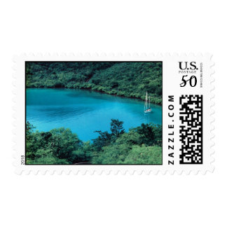 Carribean Water View Wedding Postage