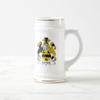 Carrick Family Crest Coffee Mugs