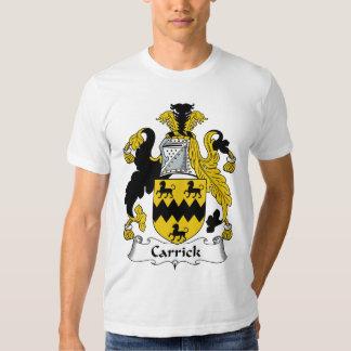 Carrick Family Crest Tee Shirt