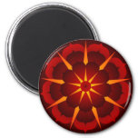 Carrie5 2 Inch Round Magnet