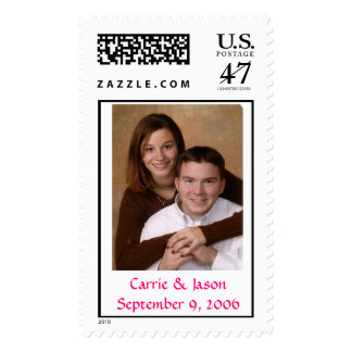 carrie and jason, Carrie & JasonSeptember 9, 2006 Postage