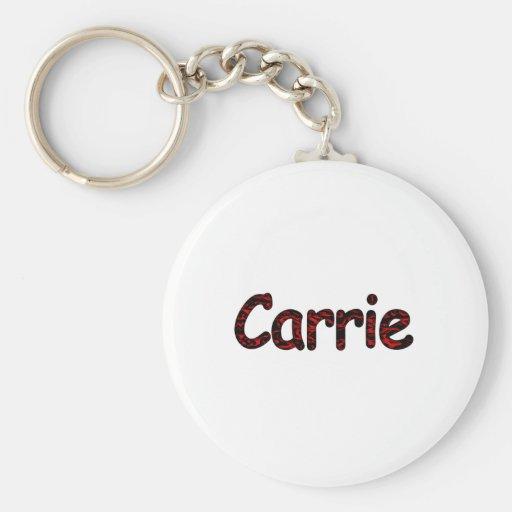 Carrie Keychain
