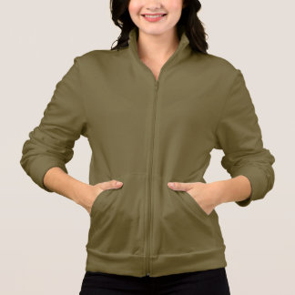 Carrie long sleeve army color t-shirt