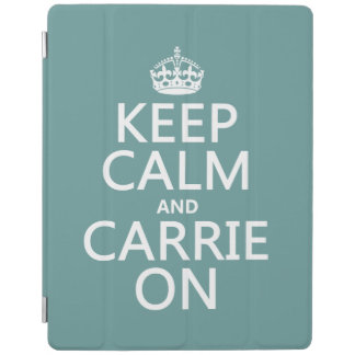 Carrie On iPad Cover