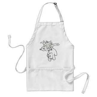 Carried Away Adult Apron