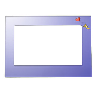 """Carried Away by Love"" Little Kit Magnetic Picture Frame"