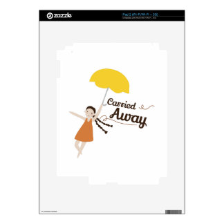 Carried Away Decal For The iPad 2