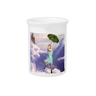 Carried by the Wind Drink Pitcher