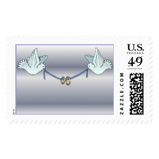 Carrier Doves  (2) [CUSTOMIZE] Postage Stamp