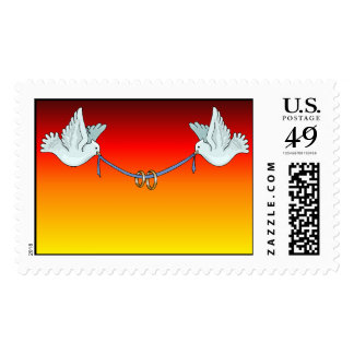 Carrier Doves Sunset (6) [CUSTOMIZE] Stamps