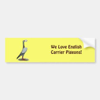 Carrier Pigeon 2012 Bumper Sticker