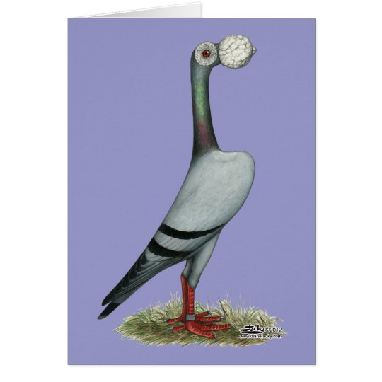 Carrier Pigeon 2012 Card