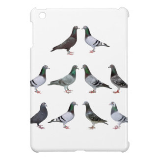 Carrier pigeons champions iPad mini cases