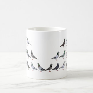 Carrier pigeons champions mugs