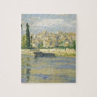Carrieres-Saint-Denis by Claude Monet Puzzle