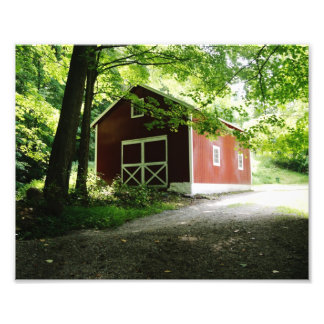 Carril 10 x del país impresión fotográfica 8 fotografía