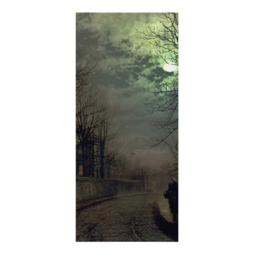 Carril de Juan Atkinson Grimshaw-A en Headingley,  Plantilla De Lona
