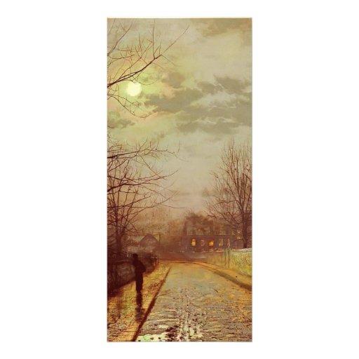 Carril de Juan Atkinson Grimshaw- en Cheshire Lona Publicitaria