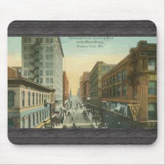 Carril de la enagua, Kansas City, vintage Alfombrillas De Ratones