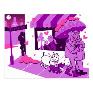 Carril de los amantes postal