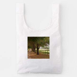 Carril del caballo bolsa reutilizable
