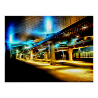 Carril ligero Southbound Poster
