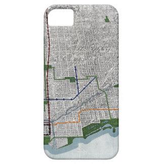 Carriles elevados y los parques de Chicago 1908 iPhone 5 Case-Mate Cobertura