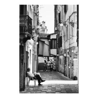 Carriles venecianos - impresión fotográfica fotografía