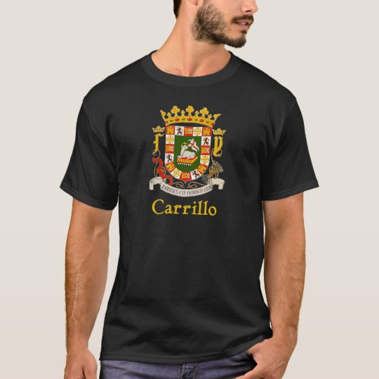 Carrillo Puerto Rico Shield T-Shirt