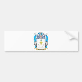 Carrion Coat of Arms - Family Crest Bumper Sticker
