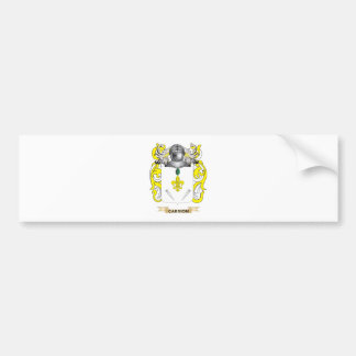 Carrion Coat of Arms (Family Crest) Bumper Stickers